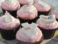 cupcake ideas for baby shower