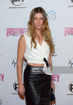 Actress Ivana Milicevic arrives at the grand opening of Britney Spears' two-year…