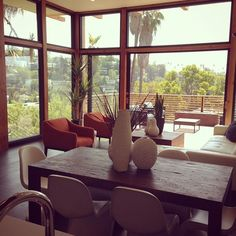 Got to preview the coolest set of houses on Westerly Terrace today. Walls of glass, views for miles, concrete walls & big flat yards. Hitting the market tomorrow. #thegoodlifela #silverlake #realestate
