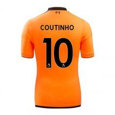 Liverpool Philippe Coutinho 10 Koszulka Trzecich 2017-2018 Liverpool, Mario, Manchester United, Premier League, Chelsea, Sports, Philippe Coutinho, Goaltender, Leotards