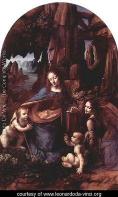 Madonna of the Rocks - Leonardo da Vinci