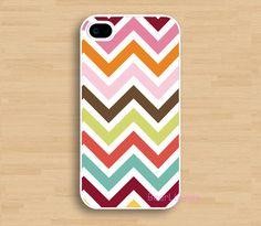 Abstract Chevron Chevron Iphone 4 Case Cover, iPhone 4s Case, iPhone 4 Hard Case, iPhone Case. $6.99, via Etsy.