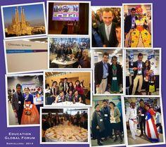 A rappresentare l'Italia all'Education Global Forum di Barcellona, dove ho presentato i miei progetti insieme ad educatori provenienti da ogni parte del mondo. Ho scattato un selfie unico! Con il Re di Spagna Felipe!