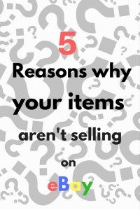 5 reasons why your items aren't selling on eBay - Love a good success story? Learn how I went from zero to 1 million in sales in 5 months with an e-commerce store.