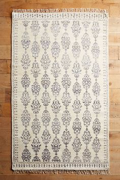 Anthropologie EU Overdyed Pericon Hand-Knotted Rug