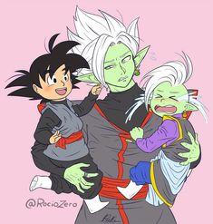 Zamasu Fusion, Goku Drawing, Db Z, Dragon Ball Z, Fandoms, Memes, Artist, Cute, Black Goku