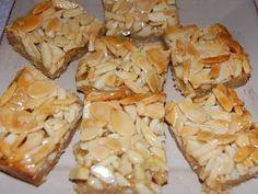 Almond and Honey Slice recipe
