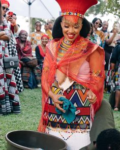 Successful stock keeping depended on the use of a variety of grassland ecologies to maximise grazing potential South African Fashion, African Wear Dresses, Latest African Fashion Dresses, Africa Fashion, Fashion Men, Girl Fashion, Fashion Design, Zulu Traditional Wedding Dresses, Zulu Traditional Attire
