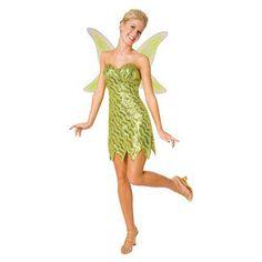 Sequin Deluxe Tinkerbell Adult Costume, $39.99