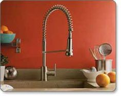 Danze Parma Single-Handle Pre-Rinse Kitchen Faucet $274 23high