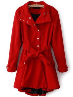 Red Coat, everyone should have one.