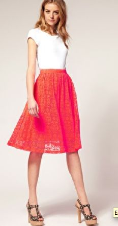 Cute Lacey skirt
