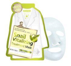 Dewytree Snail Vitalizing Treatment Face Skin Mask Pack Sheet 25g x 10 PCS (New) #Dewytree #333korea #skincare #beauty #koreacosmetics #cosmetics #oppacosmetics #cosmetic #masksheet #maskpack #facemask #facialmask