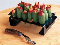 Stainless Steel Jalapeno Grill Rack with Corer