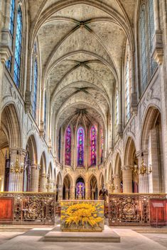 Church of Saint-Germain-l'Auxerrois - The church is one of the oldest in Paris founded by King Chilperic in the 6th century but destroyed during the Viking siege of Paris in 885. It was rebuilt in the 11th century, the porch is from 1429.