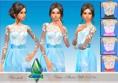 Irink@a: TS4. Dress Sherri Hill 21234