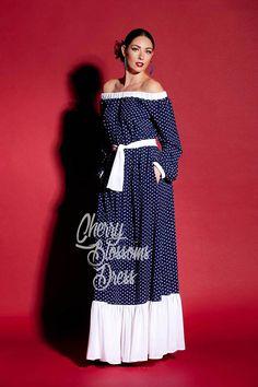 Belle robe Maxi bleue de notre Collection SS2017 ! Tissu chic, maxi forme et élégant look, cette robe bleue est la robe maxi parfait pour l'été ! Vous porter robe à manches longues comme une robe de jour, comme une robe de dissimulation, comme une robe de soirée avec une ceinture