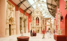 This museum was born from the slightly unlikely merger of the museum of French monuments and the French architecture institute.