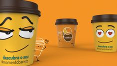 Baristo Coffee - Mood Of The Day on Packaging of the World - Creative Package Design Gallery Packaging Dielines, Kids Packaging, Coffee Company, Coffee Shop, Coffee Cups, Take Away Coffee Cup, Coffee Cup Design, Ads Creative, Creative Package
