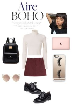 """""""Osmosis"""" by foxescitys on Polyvore featuring Marc by Marc Jacobs, A.L.C., White Mountain, Casetify and MANGO"""
