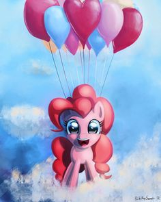 Pinkie Pie in the Sky by porkchopsammie on DeviantArt
