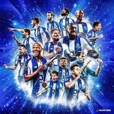 Alex Telles, Fc Porto, Football Wallpaper, Soccer, Posters, Professional Football, Soccer Party, Football Squads, Blue And White