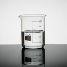 Laboratory Glass Science Beaker  - 1000ml #vase #interiors
