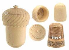 Antique Child Sized Bone Thimble Holder & 14K Thimble *C.1800s | eBay