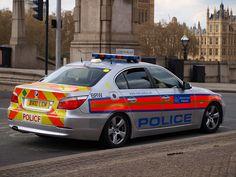 Metropolitan Police, BMW 525D, Armed Response Vehicle, BX10 LCM