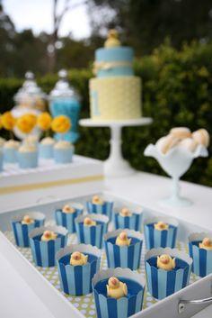 A little Polkadot: Blue & Yellow Ducky 1st Birthday. -- just no blue