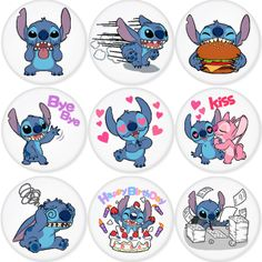 "LILO & STITCH 1.75"" Badges Pinbacks, Mirror, Magnet, Bottle Opener Keychain http://www.amazon.com/gp/product/B00DSRLO4S"
