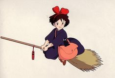 Enjoy a collection of Concept Art from Studio Ghibli Kiki's Delivery Service, featuring Character, Layout, Prop & Background Design. Ghibli Tattoo, Kiki Delivery, Kiki's Delivery Service, Anime Toon, Anime Art, Studio Ghibli Art, Dibujos Cute, Ghibli Movies, Hayao Miyazaki