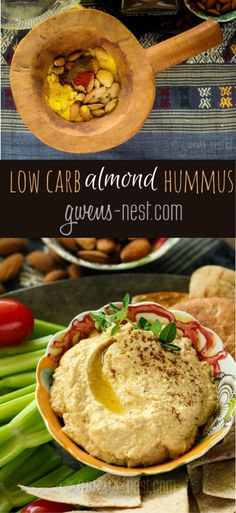 low carb hummus
