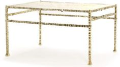 FORGED BRONZE TABLE IV | JOHN LYLe.   Used for our Pebble Beach project.  Great design and materials.
