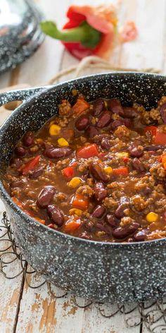 Der Klassiker, der einfach allen schmeckt - ein gutes Chili schmeckt herrlich würzig und macht satt.