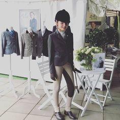 Georgie Davey .Showgirl Equestrian Rosette .#showgirlequestrian #ponylove #ridingjacket #hunterjacket