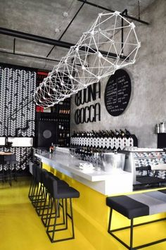 ITALIAN MODERN DESIGN MEETS TRADITIONAL CHINESE: BUONABOCCA WINEBAR