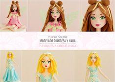 Curso Online de Modelado en Azúcar de Princesa y Hada - Patricia Arribálzaga www.cakeshautecouture.com