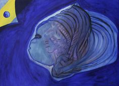 """Missing Peace""  acrylics on canvas"