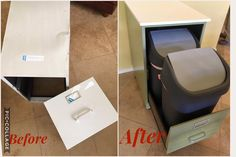 How an old file cabinet can solve your biggest kitchen problem