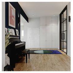 New project of OSOM group | interior of the house in Julianów, Łódź. #midcenturymodern #moodconcept #lessismore #midcenturymodern #timeless #instainspiration #skandinavianhome #skandinavian #nature #lovemywork #design #interiordesign #desigoftheday #osomgroup #cosy #pleasuretime #archilovers #modern #wnętrza #art #decoration #osomgroup #osomteam #hallway #piano