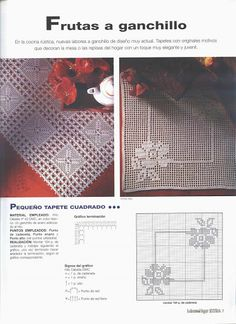 Kira scheme crochet: Scheme crochet no. Crochet Art, Crochet Motif, Crochet Doilies, Crochet Patterns, Filet Crochet Charts, Picasa Web Albums, Charts And Graphs, Crochet Projects, Bohemian Rug