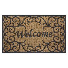 Achim Home Furnishings COM1830VN6 Vines Coco Door Mat, 18 By 30u0027 ***