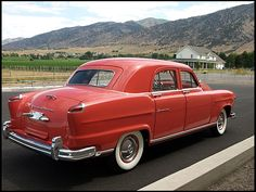 1951 Kaiser Frazer Vegabond  In 51 - 55, my family traveled cross country several times in one.  The rear seat folded so my sister & I could sleep with head in rear seat and feet in the trunk.  Saw so much of the sky over the US.  Very pleasant memories