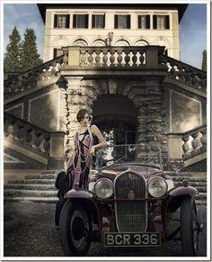 Gatsby inspired photoshoot