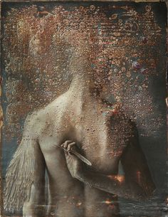 Inside Beautiful Bizarre Magazine issue 017, Agostino Arrivabene's 'Feathers' [Oil and enamels on wood] . Be inspired, get your copy today ~ STOCKISTS: beautifulbizarre.net/stockists SHOP ONLINE, PRINT & DIGITAL: beautifulbizarre.net/shop #beautifulbizarre #beautifulbizarremagazine #artmagazine #indiemagazine #art #newcontemporaryart #contemporaryart #artquarterly #figurativeart #painting #fineart #surrealism