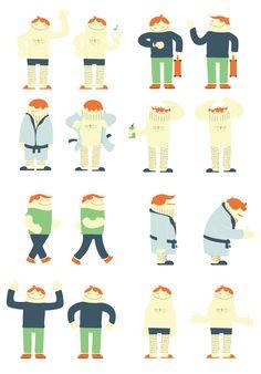 Spits - Laat de dag maar komen - characters - www.john-beckers.nl