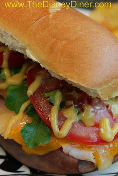 Disney Recipes: The Full Montagu from Earl of Sandwich (Downtown Disney) www.TheDisneyDiner.com