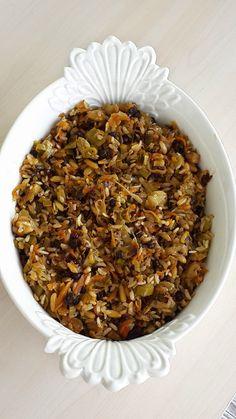 Pumpkin Salad, Vegan Recipes, Cooking Recipes, Turkish Recipes, Mediterranean Recipes, Tasty Dishes, Vegetable Recipes, Bon Appetit, Food And Drink