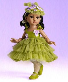 """Pistachio Cupcake Trixie 10"""" Doll by TONNER. Invite a fine piece of American history into your doll collection with Effanbee's Patsy line, originally released in 1928 and is one of the country's oldest dolls $104.99 Special financing available with PayPal Credit. Subject to credit approval."""